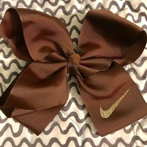 🎀 Nike brown bow - FREE CUSTOMIZATION